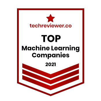 Xenoss is recognized by Techreviewer as a Top Machine Learning company in 2021