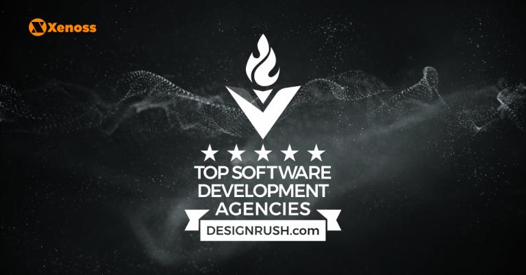 Top software developer by DesignRush award picture