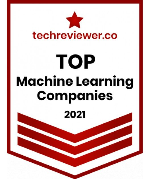 Top Machine Learning company by Techreviewer reward