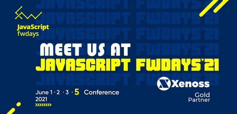Xenoss to support JavaScript fwdays'21