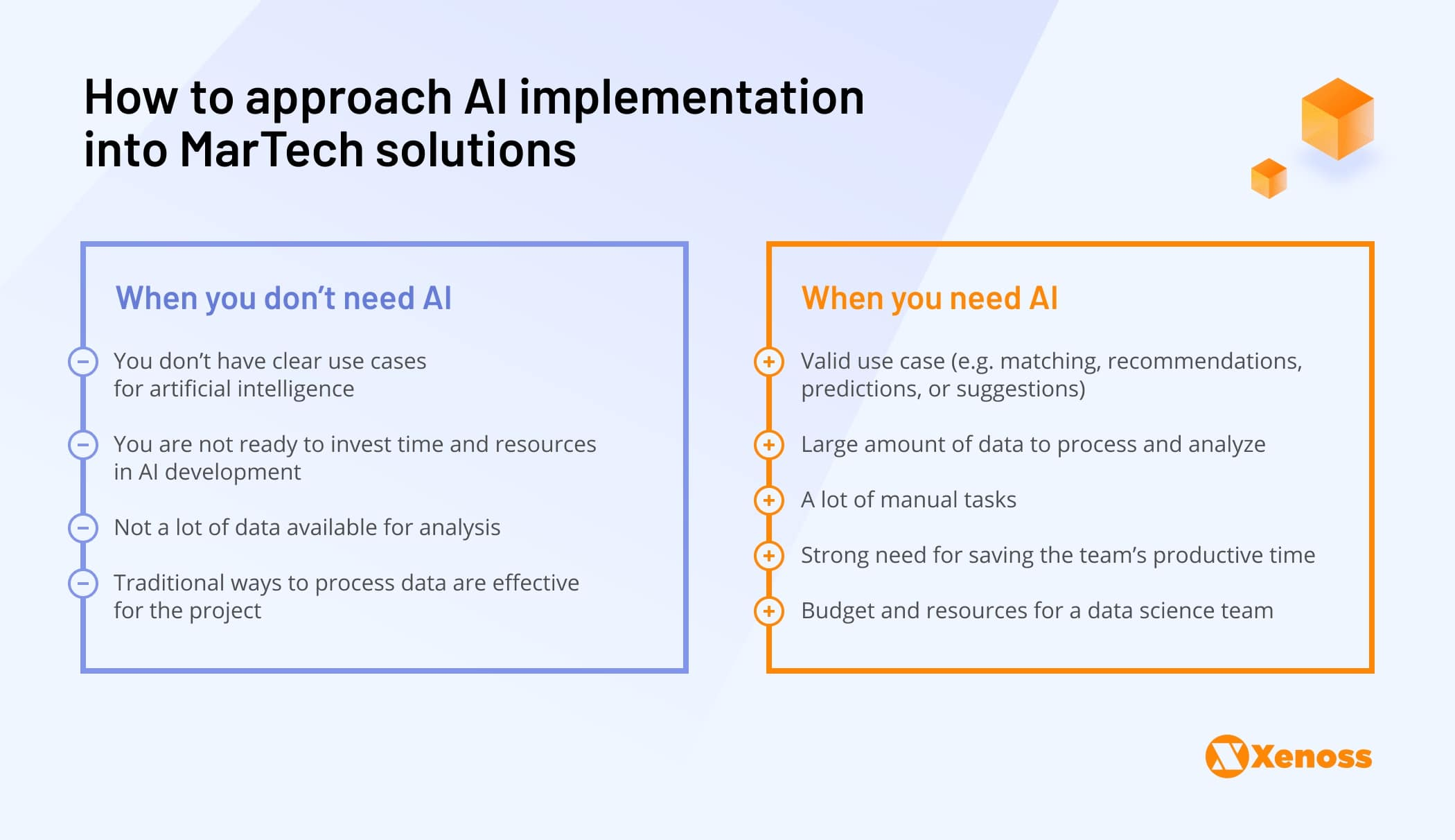 Do you need AI in your MarTech product   Xenoss Blog